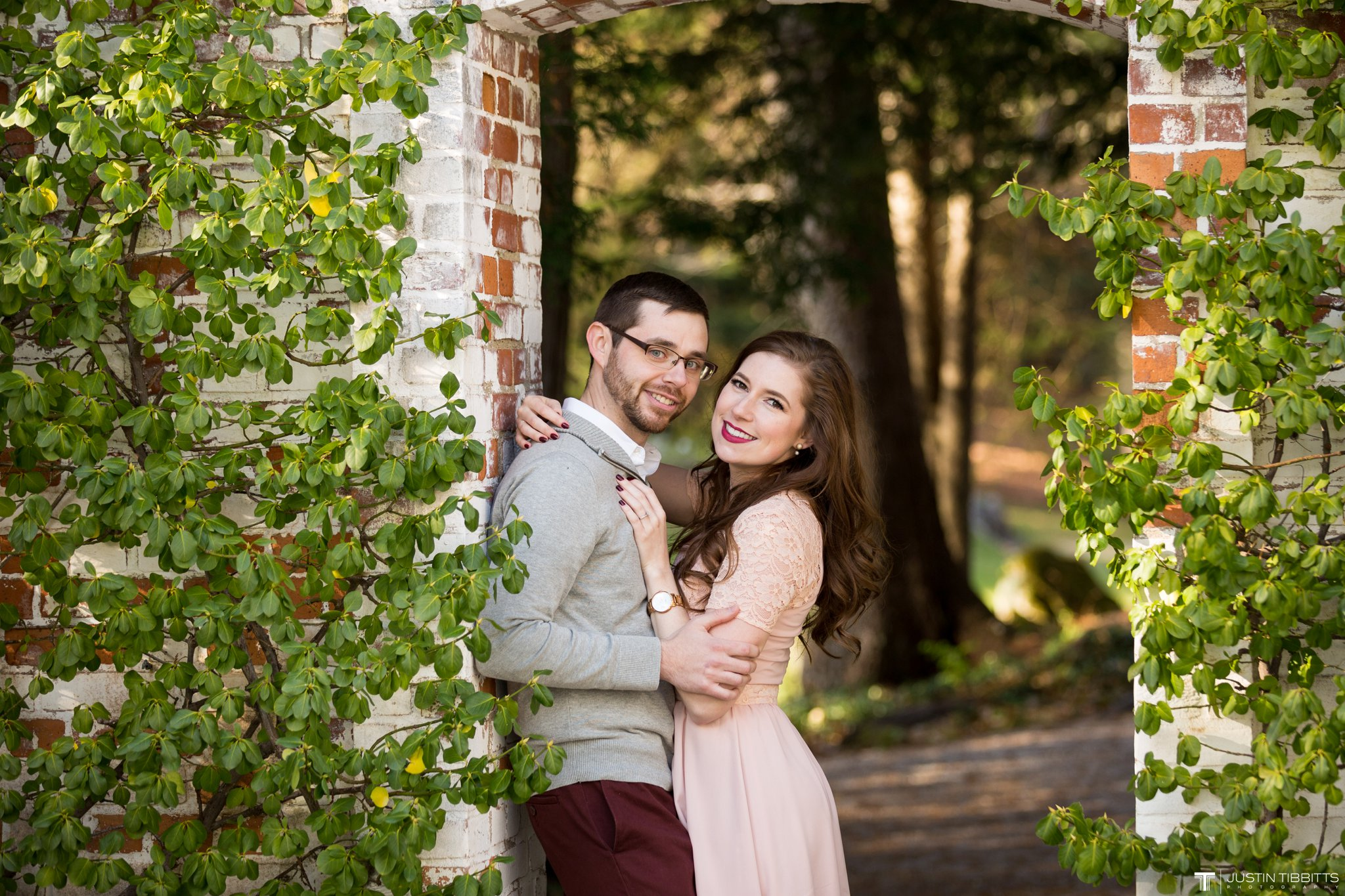 Amber and Zack's Engagement Shoot at The Mount, Lenox MA_0006
