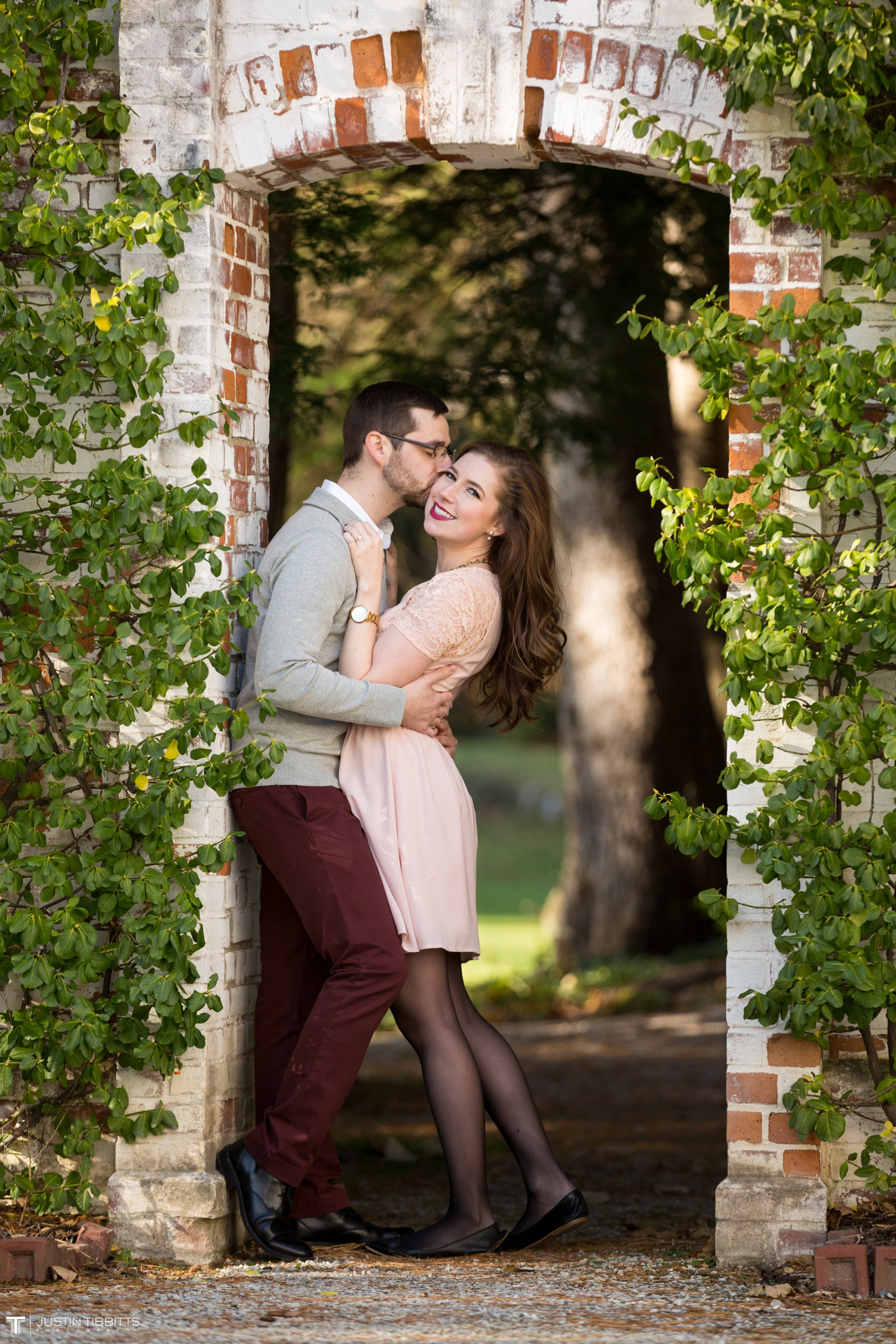 Amber and Zack's Engagement Shoot at The Mount, Lenox MA_0007