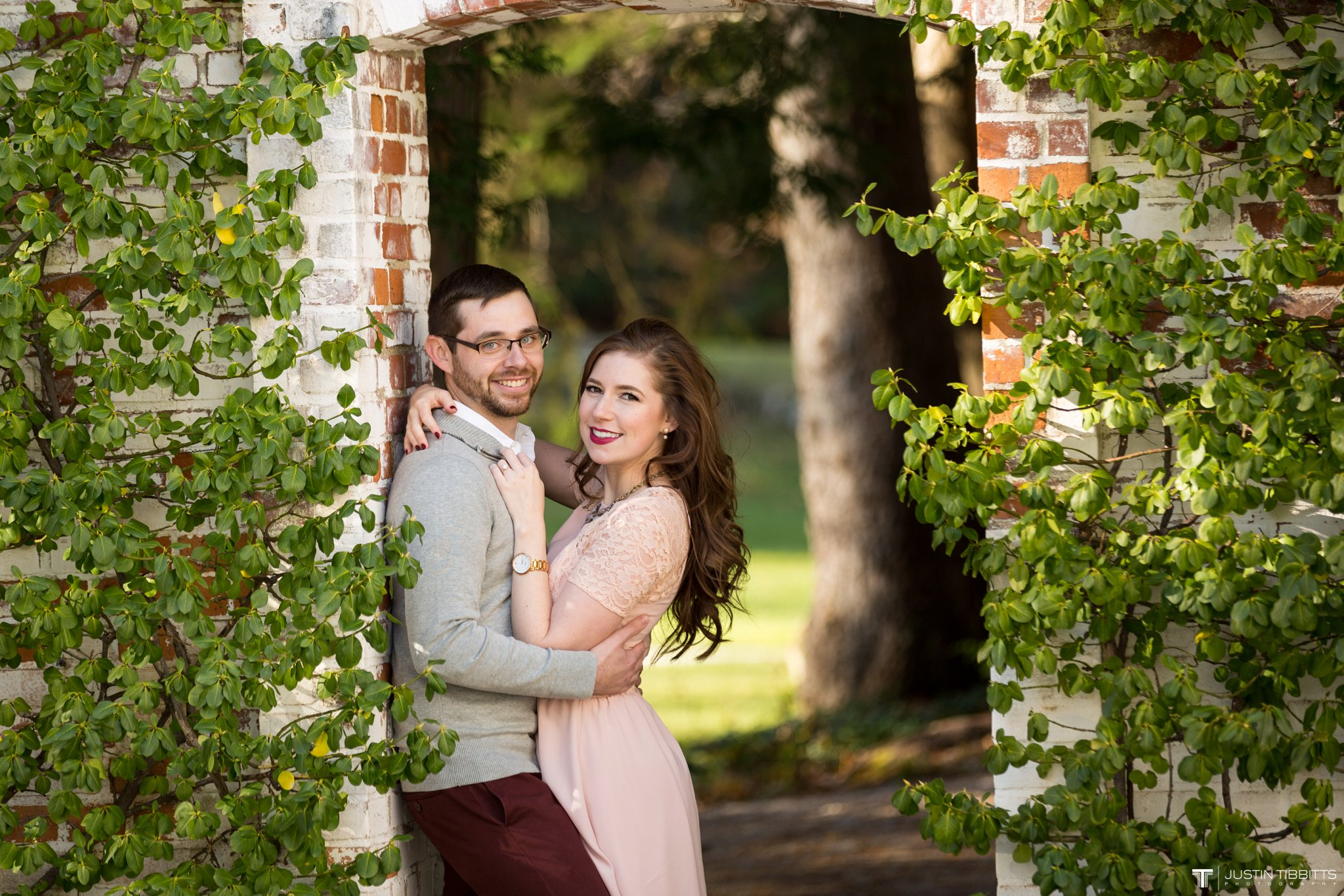 Amber and Zack's Engagement Shoot at The Mount, Lenox MA_0010