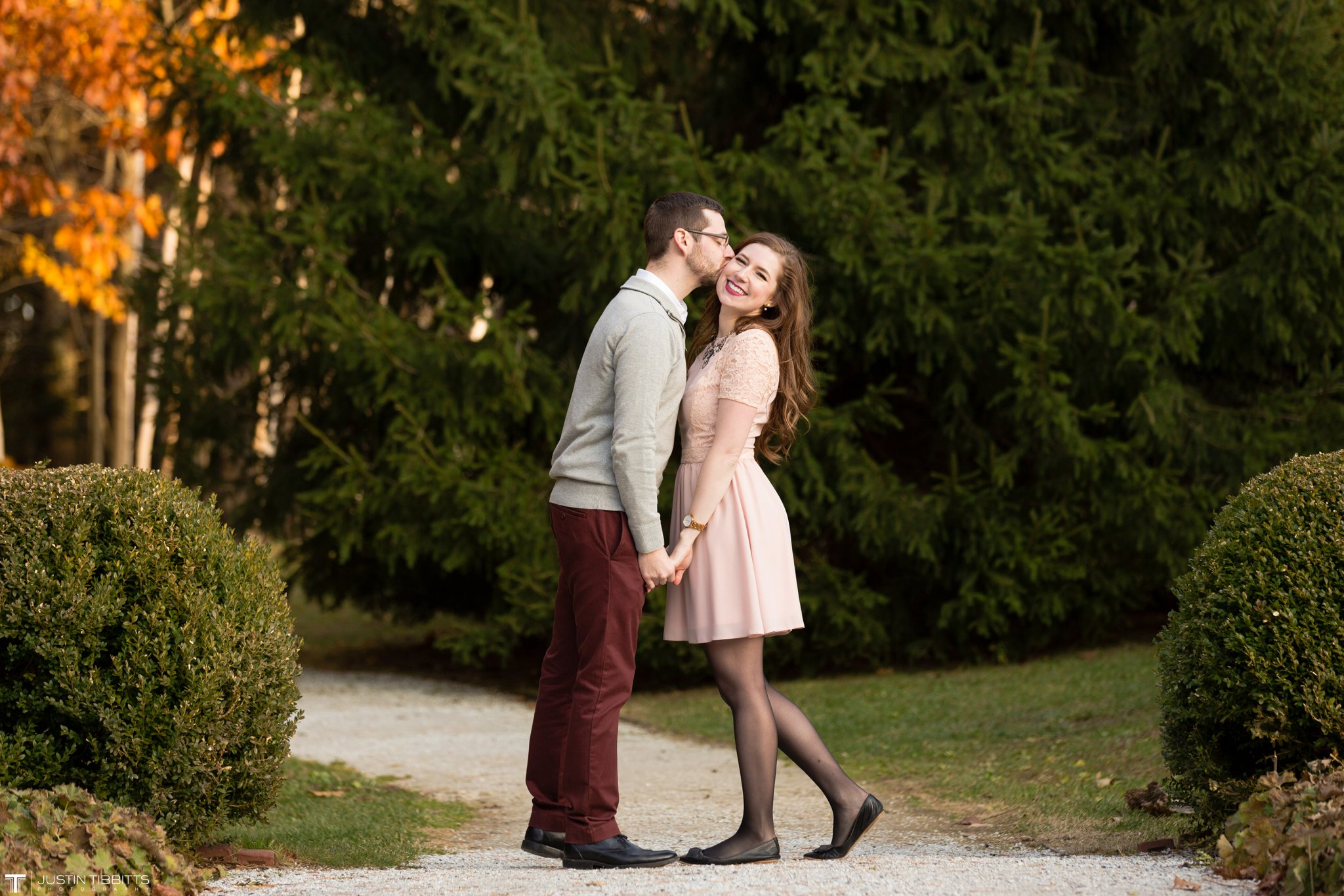 Amber and Zack's Engagement Shoot at The Mount, Lenox MA_0026
