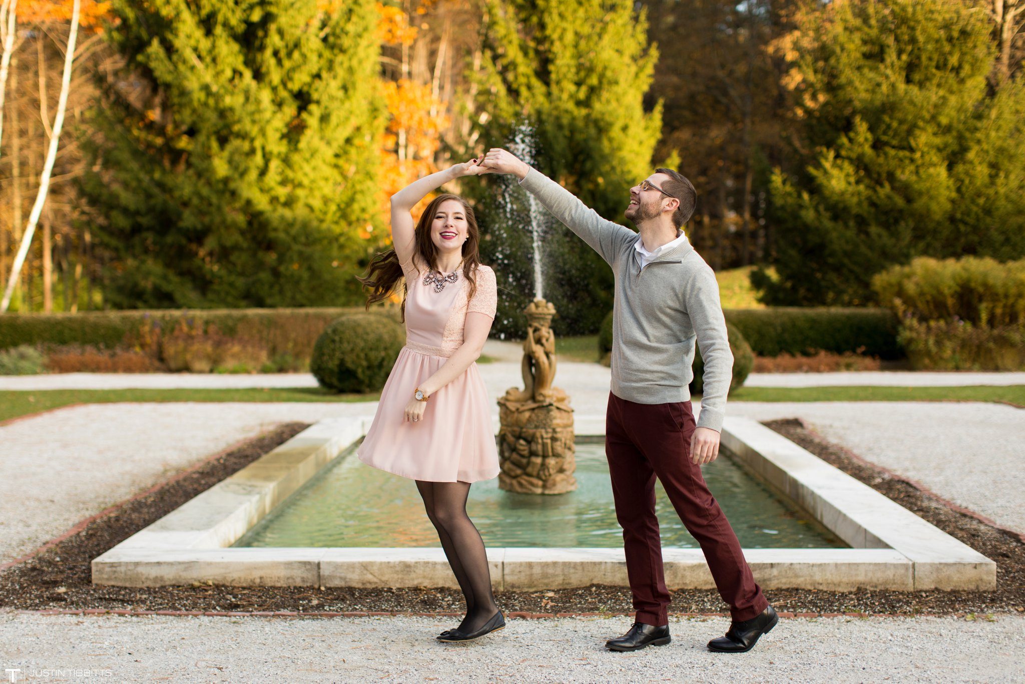 Amber and Zack's Engagement Shoot at The Mount, Lenox MA_0038