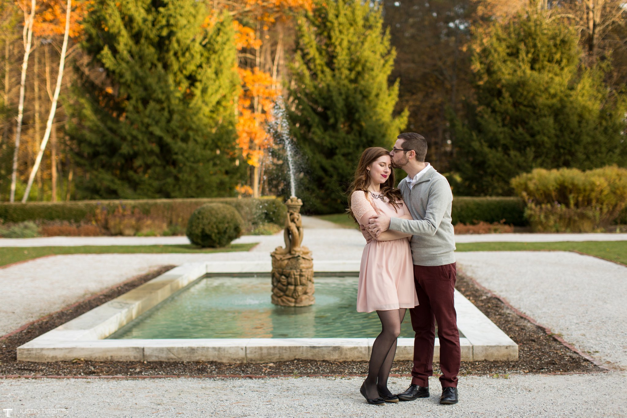 Amber and Zack's Engagement Shoot at The Mount, Lenox MA_0039