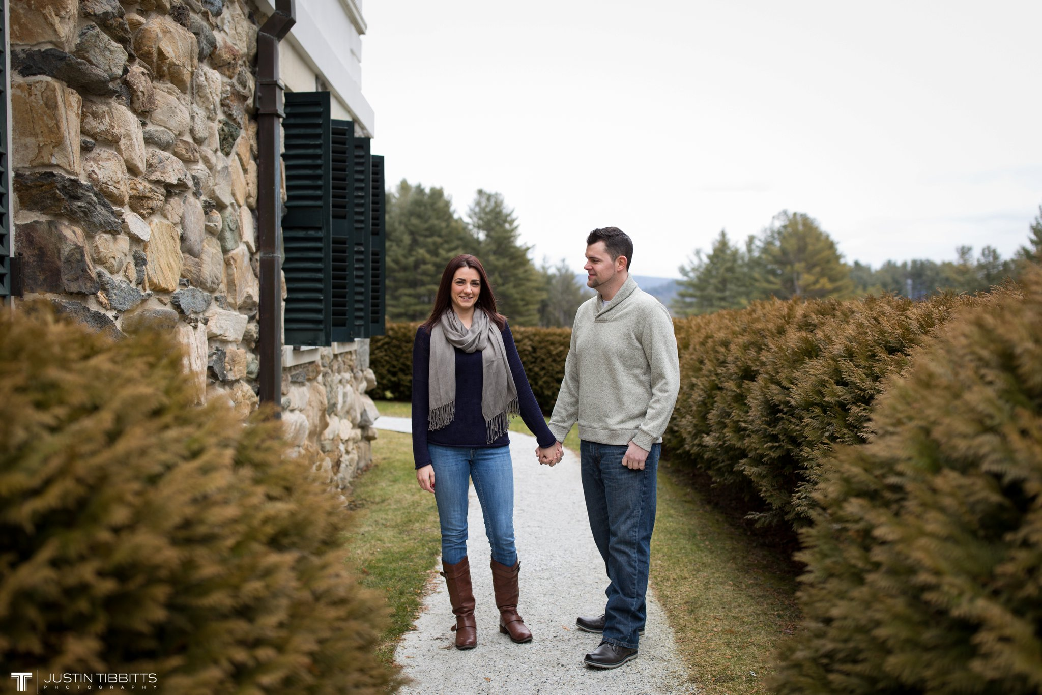 Lauren and Jordan's Engagement Photos at The Mount, Lenox,MA_0007
