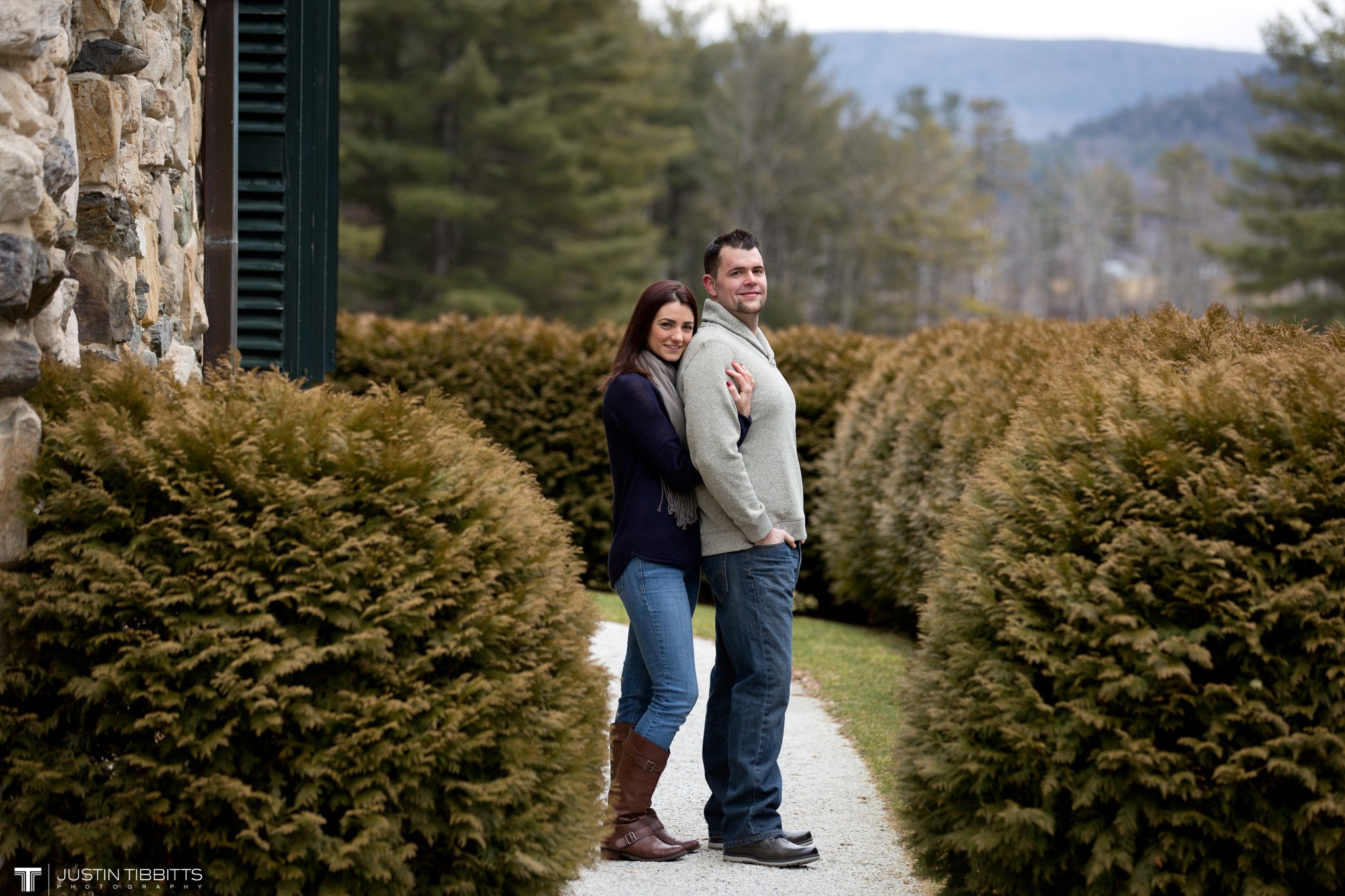 Lauren and Jordan's Engagement Photos at The Mount, Lenox,MA_0009