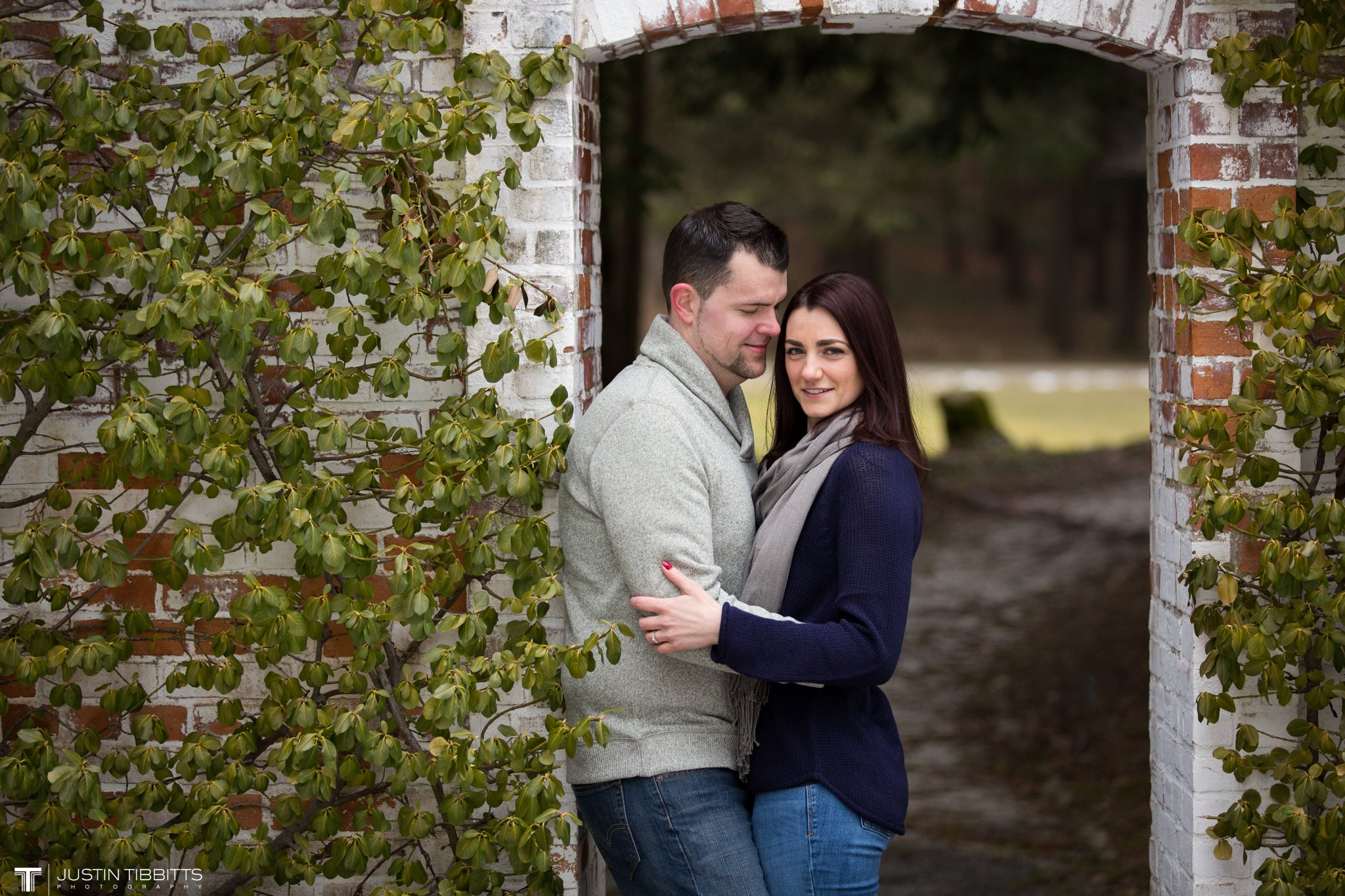 Lauren and Jordan's Engagement Photos at The Mount, Lenox,MA_0013