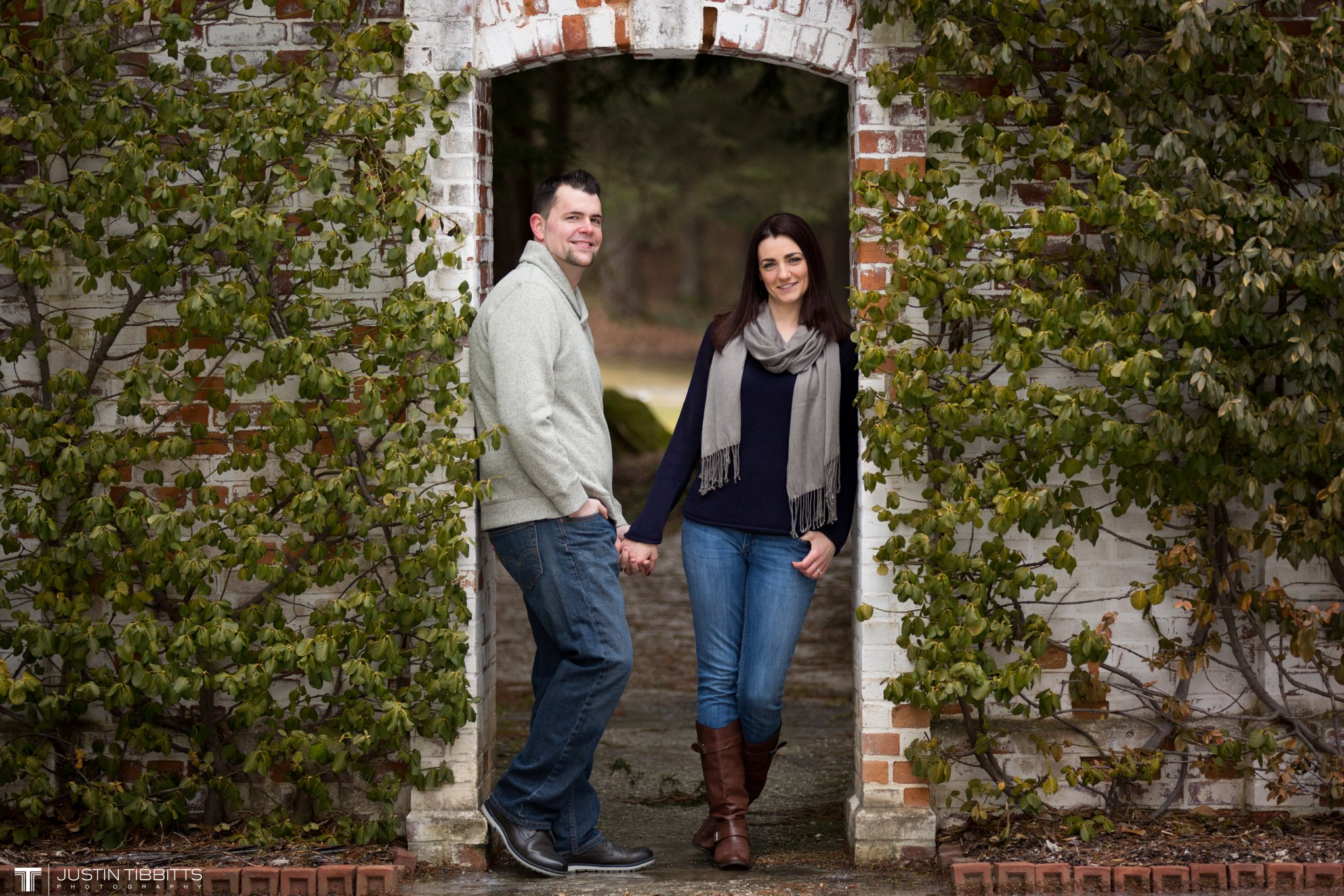 Lauren and Jordan's Engagement Photos at The Mount, Lenox,MA_0015