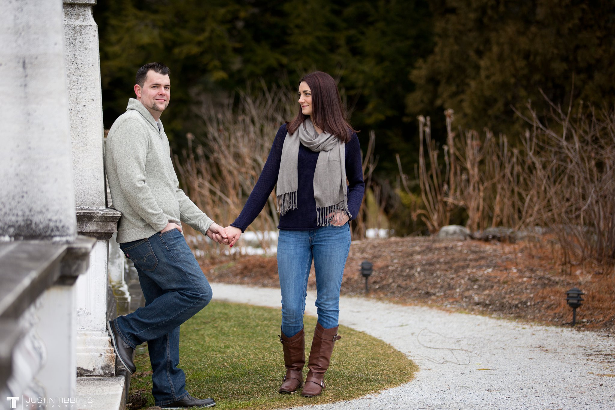 Lauren and Jordan's Engagement Photos at The Mount, Lenox,MA_0019