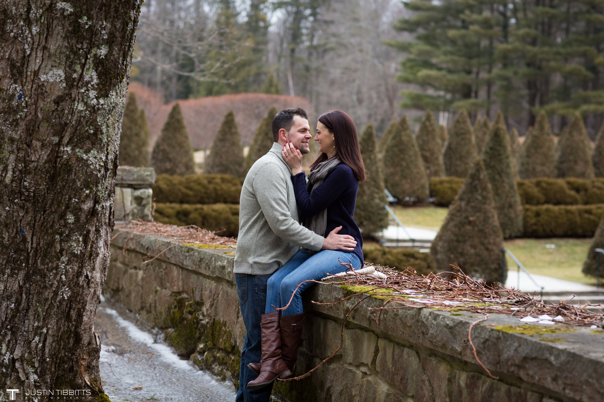 Lauren and Jordan's Engagement Photos at The Mount, Lenox,MA_0020