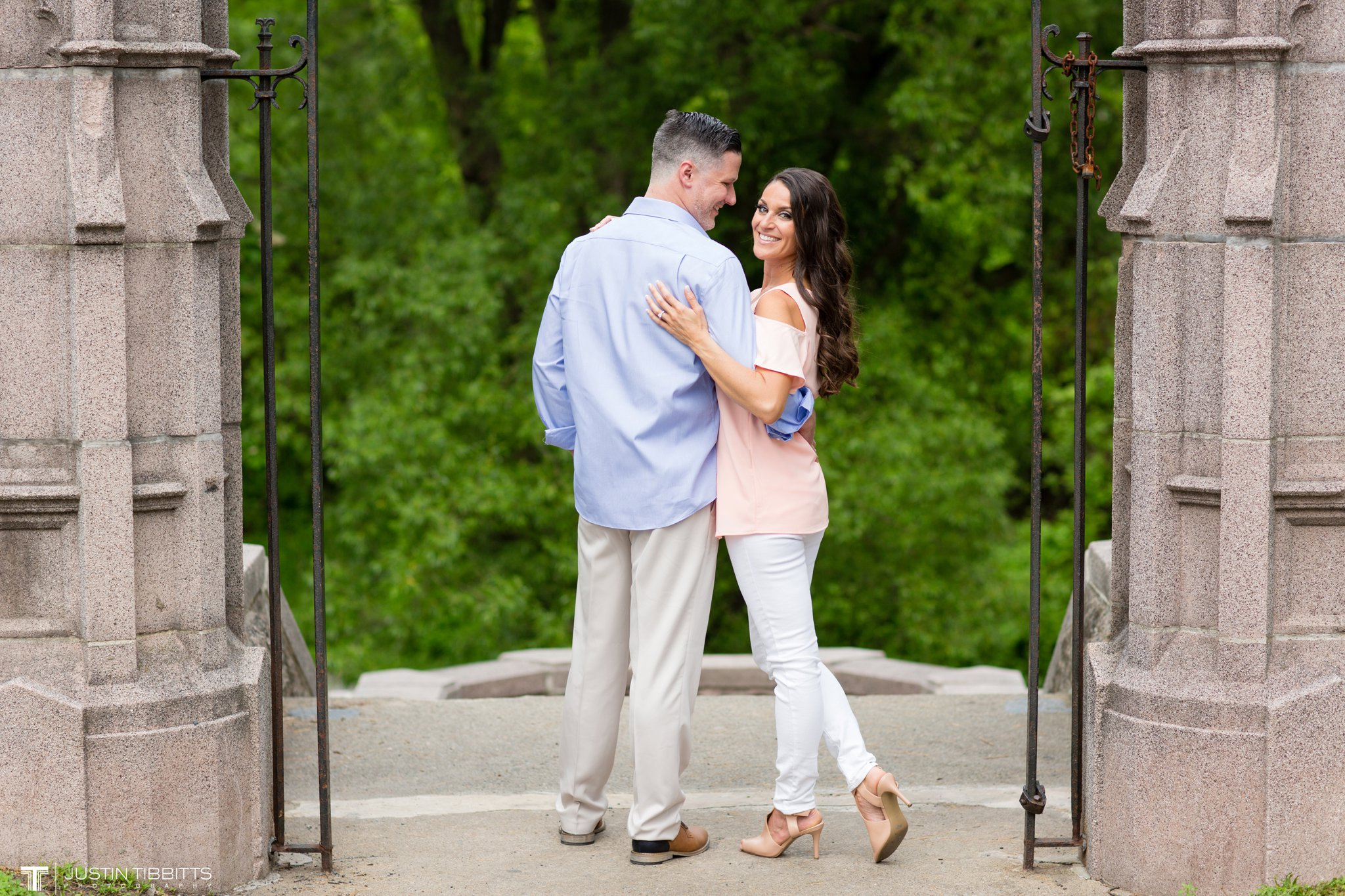 Saratoga Springs Congress Park Engagement Photos with Christie and Mike_0024